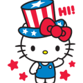 Hello Kitty Collaboration + Pop-Up Stickers