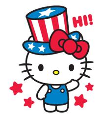 Hello Kitty, Hello USA!