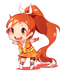 Crunchyroll Hime LINE Stickers