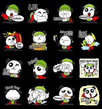 Panda Fun at senQ