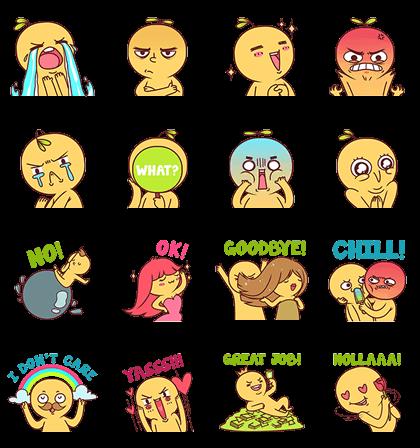 Randomphilia Stickers