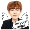 LINE Drama Series: EXO Next Door Sticker 1 & 2