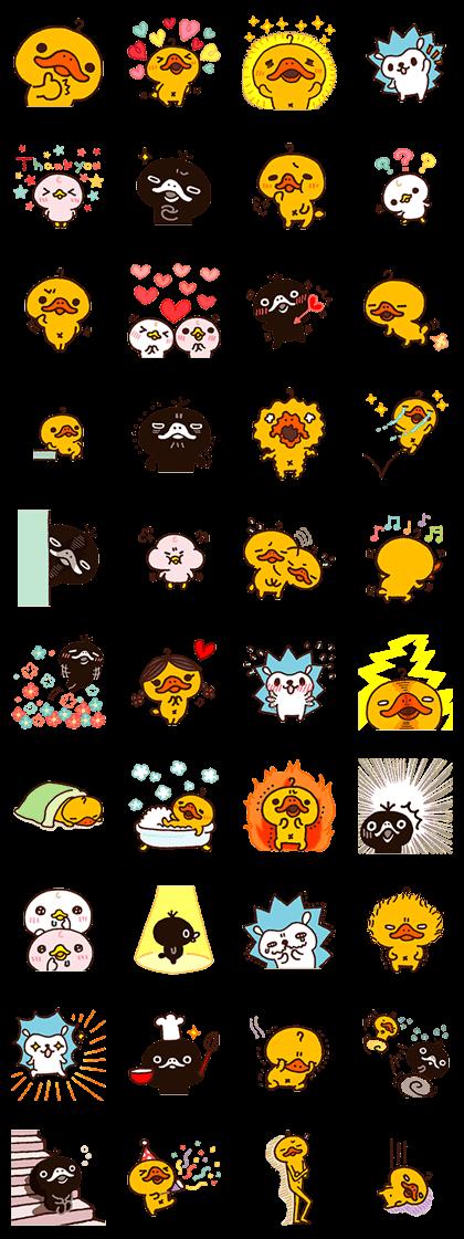 Kamonohashikamo's Lovely Friends
