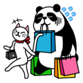 Panda and Xiaoyu's happy life