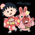 LINE PokoPoko & Chibi Maruko Stickers! + animated