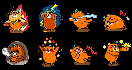 OB design ★ Orange Bear