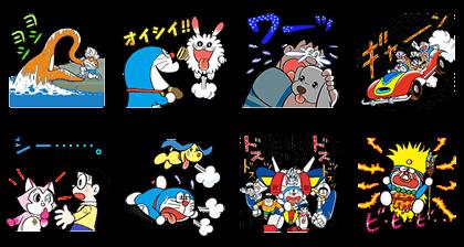 LINE NEWS x Doraemon the Adventure