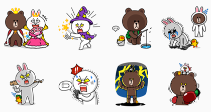 LINE Sticker Special Edition
