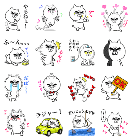 TOYOTA x Attractive eye's cat