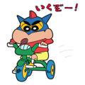Crayon Shin-chan + Animated + Pastel + Pops Up