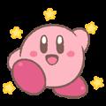 Kirby's Puffball Sticker Set