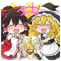 Touhou Project Character Stickers 1 & 2