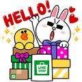 Enjoy Shopping with LINE Friends!