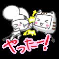 Chumaru and Monya Animated Stickers
