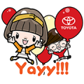 Toyota's New Account Greetings