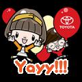 Toyota's New Account Greetings