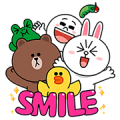 Smile with the LINE Characters