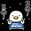 MEGA EGG × Noisy Chicken
