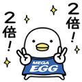 MEGA EGG × Noisy Chicken