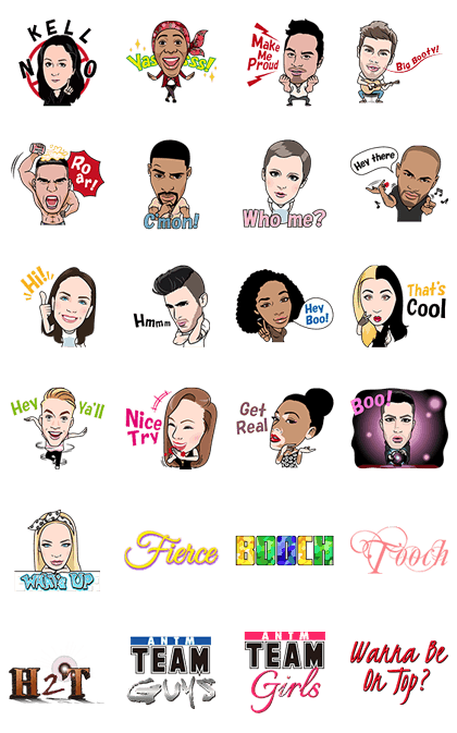 ANTM #Cycle21 Stickers!