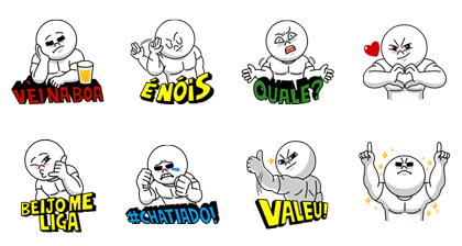 Brazilian Moon Special - LINE Stickers for Android, iPhone ...