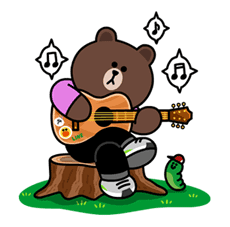 Brown & Cony in Lee Min Ho's LINE Love Sticker for LINE ...