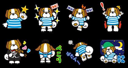 Fukuchan Stickers