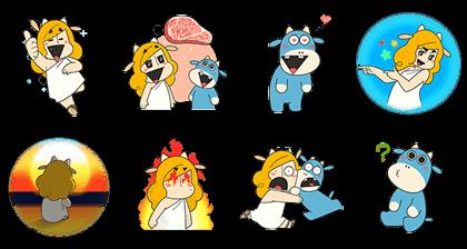 Zeushi-Kun's Meat Stickers