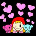 Animated Well-kun, Nesu-chan & Hapia-chan