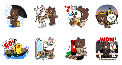 Brown & Cony Join Burberry in London