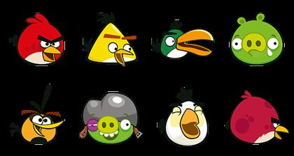 LINE Rangers x Angry Birds