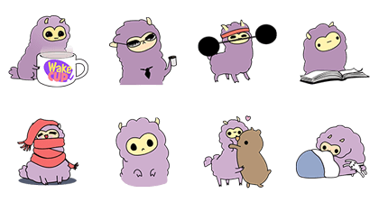 Little Purple Llama