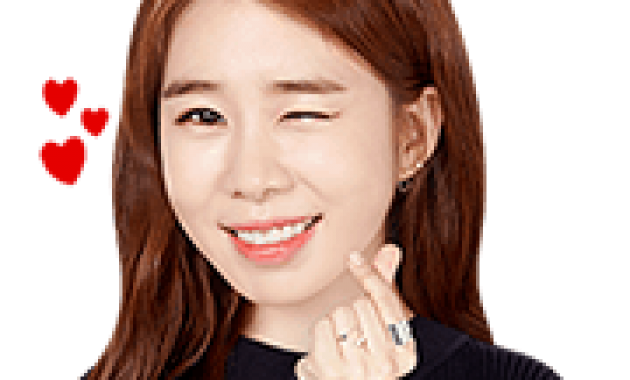 Yoo In-na | Sticker for LINE & WhatsApp — Android, iPhone iOS