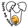 gudetama Sticker for LINE & WhatsApp | ZIP: GIF & PNG