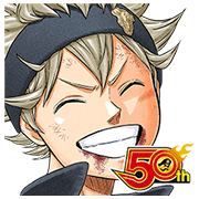 BLACK CLOVER J50th