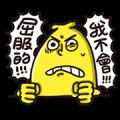 Mr. Banana's Sticker Combo!
