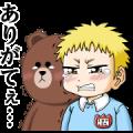 LINE Manga 5th Anniversary Stickers
