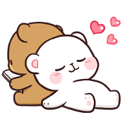 Milk & Mocha: Unstoppable Lovers Sticker for LINE & WhatsApp | ZIP: GIF & PNG