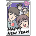 [BIG] Lousy GF Year-End Stickers