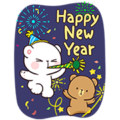 [BIG] Milk & Mocha Year-End Stickers