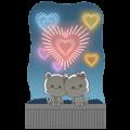 [BIG] Njun & Njel Year-End Stickers