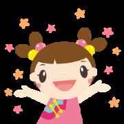 Free A-Di and A-Moi Love Hakka LINE sticker for WhatsApp