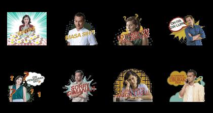 Aruna & Lidahnya Line Sticker GIF & PNG Pack: Animated & Transparent No Background | WhatsApp Sticker