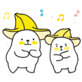 Bana & Nana Sticker for LINE & WhatsApp | ZIP: GIF & PNG