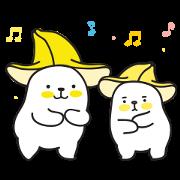 Bana & Nana Sticker for LINE & WhatsApp | ZIP: GIF & PNG