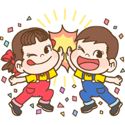 Bubble 2 x Peko Sticker for LINE & WhatsApp | ZIP: GIF & PNG