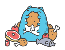 Bugcat-Capoo: Move! Move! Sticker for LINE & WhatsApp | ZIP: GIF & PNG