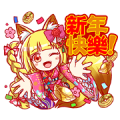 Crash Fever Taiwan LINE Stickers!