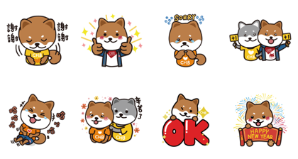 Daily Life with Boa Line Sticker GIF & PNG Pack: Animated & Transparent No Background | WhatsApp Sticker