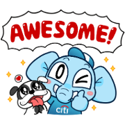 Denra and Family: Limited Edition Sticker for LINE & WhatsApp | ZIP: GIF & PNG